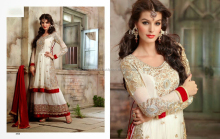 Designer party wear heavy pakistani anarkali style suits and lehenga for this festival