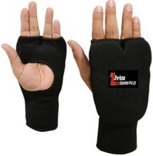 Black High Quality Karate Hand-Mitts / MMA training hand mitts /Taekwondo Hand Protectors