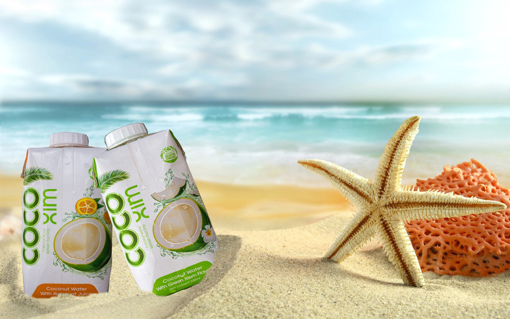 COCONUT JUICE IN TETRA PAK PACKING, REFESH FOR HUMAN