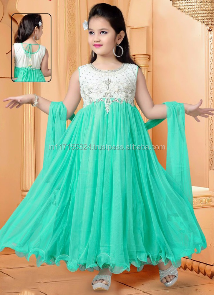 Latest design kids girls anarkali frock - 2016 cheap india wholesale kids clothing cute children clothes clothing sets girls