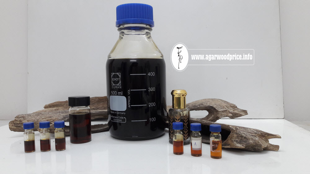 Special line of Oud or aloeswood esstential oil made from Agarwood material aged more than 50 years - competitive price