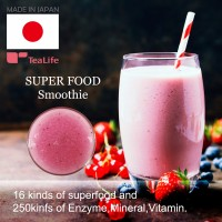 Popular and High quality fruit juice brand name super food smoothie for Glad to woman , diet tea also available