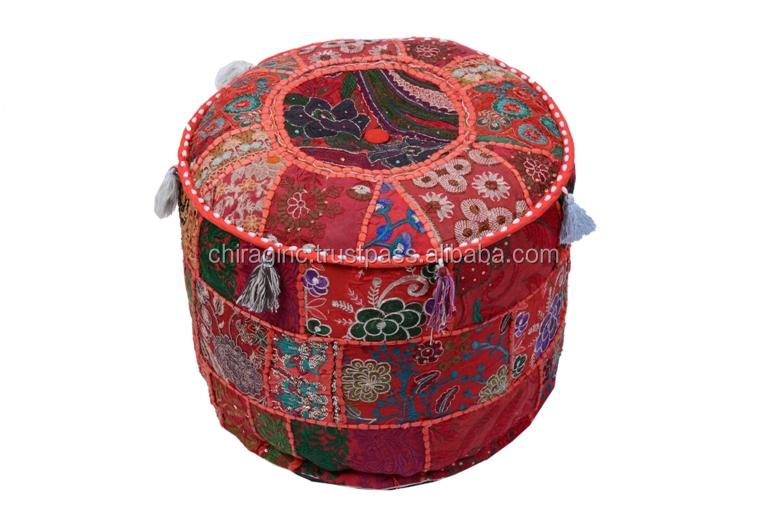 Indiano broccato patchwork decorativi vintage khambadiya for Ka international tessuti arredamento