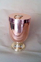 BEST MANUFACTURER OF COPPER ICE CREAM BOWL FROM INDIA COPPER ICE CREAM BOWL WITH LID FROM INDIA
