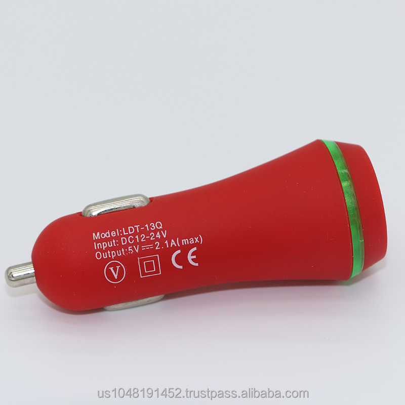 Hot Selling Car Accessories 2.1A universal highspeed charger phone car charger for travel