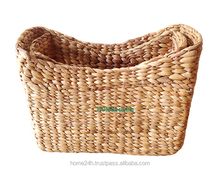 Vietnam crafts Water Hyacinth or Seagrass Handmade water hyacinth Decor basket for home decoration/houseware/sundry/toy