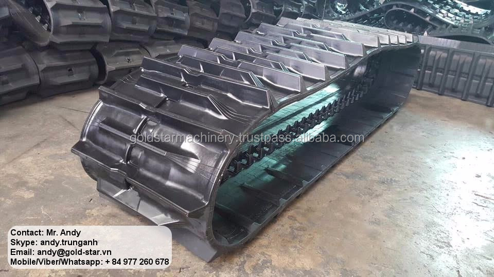 New coming latest rubber track agriculture for DC-105X