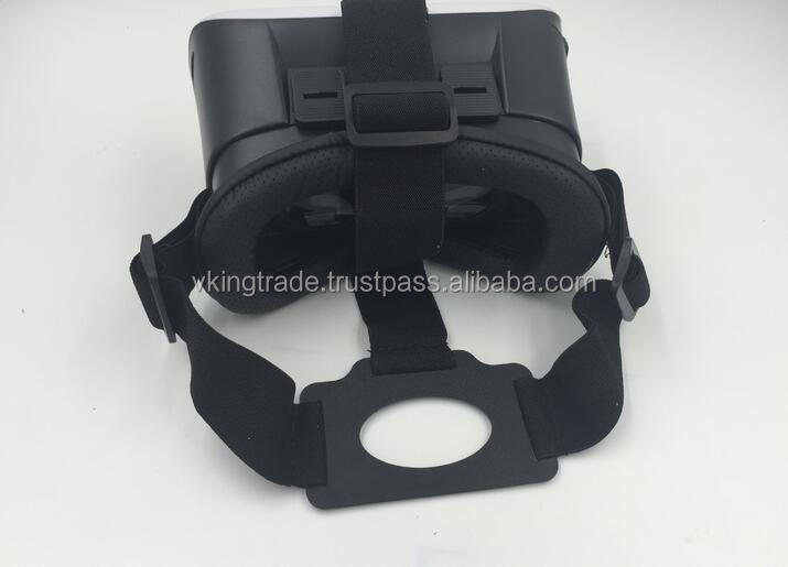 VR BOX head type virtual reality VR glasses second generation mobile phone 3d cinema intelligence game helmet