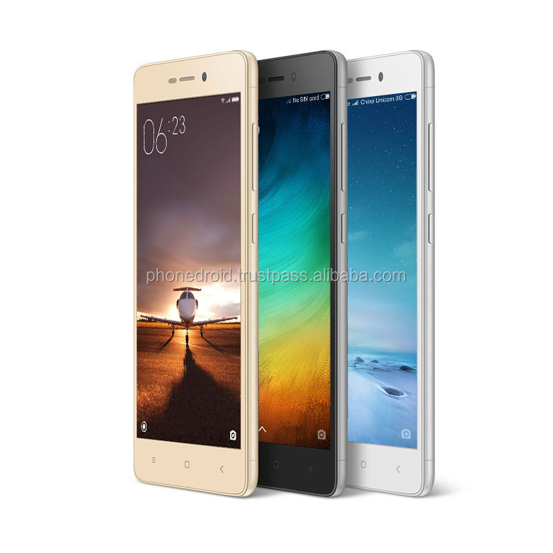 "Original Xiaomi Redmi 3S Pro Prime Mobile Phone Snapdragon 430 Octa Core 5"" HD 3GB RAM 32GB CE Support"