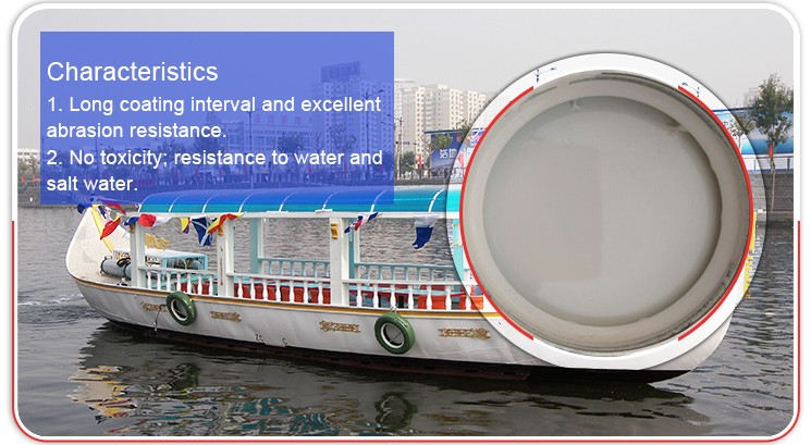 1.45 Specific Gravity Antifouling Watercraft Cargo Tank Coating Paint For Boats