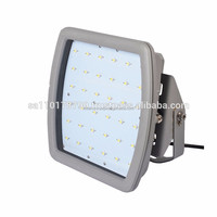 CES-J200/ATEX 40w-185wLED Explosion Proof light IP68 ,Explosion Proof Gas Station Light flood light fixture manufactory