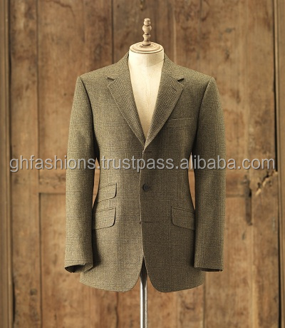 Men Tweed Coats Jackets 2016