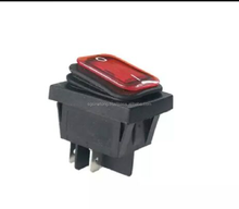 New design Waterproof IP65 In line switch with rocker switch or button switch
