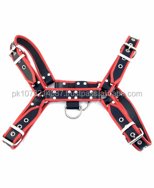 NEW 2015 BLACK BONDAGE O.T.H FRONT HARNESS SOFT LEATHER MATERIAL