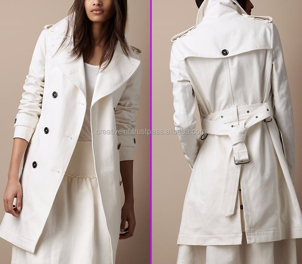 High fashion clothing manufacturers unique custom lady winter coats long/winter coat