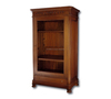 Best Seller Mahogany Display Cabinet Glass Yamin Indoor Furniture
