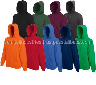 Tappered fit hoodies cotton hoodie for men  Famous various color cotton fleece hoodie bodybuilding clothing customize hoodie