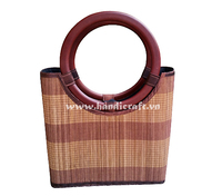 Beauty products bamboo bags from Vietnam HB 3623