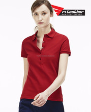 Cheap new products customize women's polo shirt