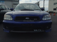 GOOD CONDITION RIGHT HAND STEERING USED CAR FOR SUBARU LEGACY B4 2001 (GRADE: RSK, ENGINE: EJ20, MODEL: TA-BE5)