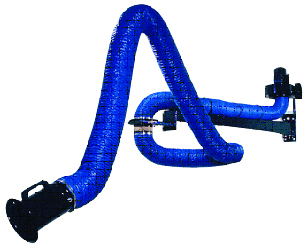 Flexible suction arm 200mm 2m