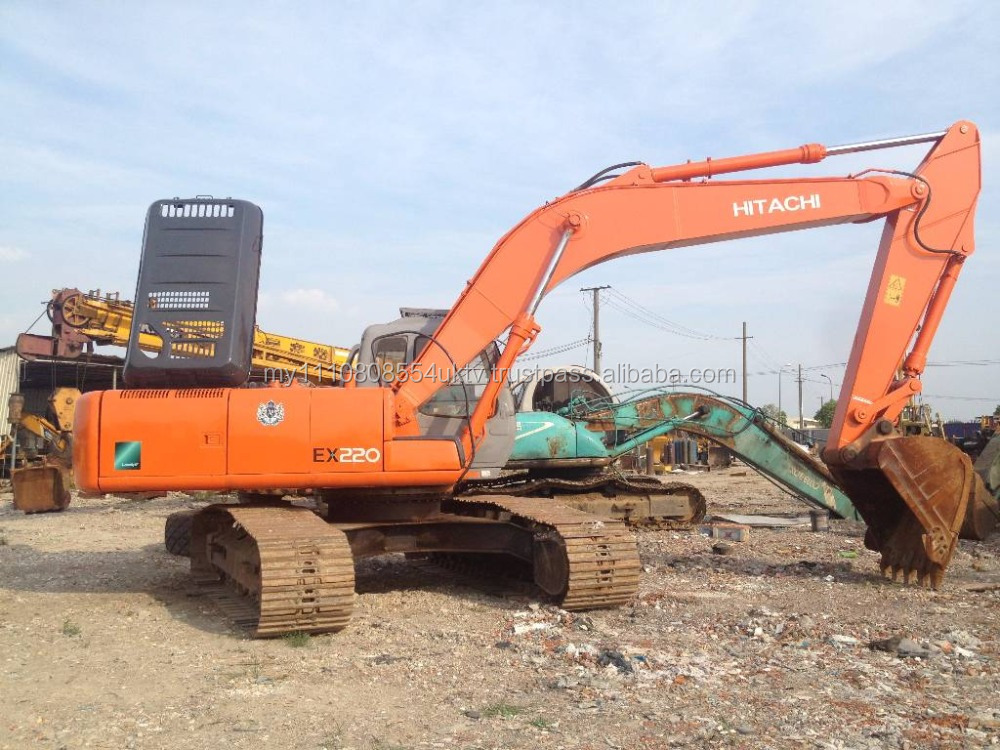 Japan used cheap Hitachi EX220 crawler excavator for sale