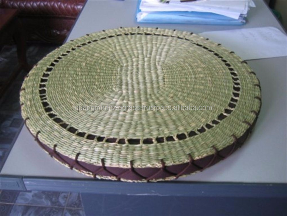 Hot sale water hyacinth stationery basket competitive price wicker beach basket durable rattan blanket basket