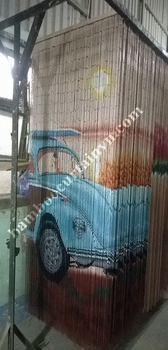 Vietnam Factory Direct Sell High Quality bead door curtain exclusive car