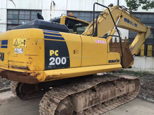 Used Komatsu Excavator Second-hand PC200-8 for sale Cheap Price