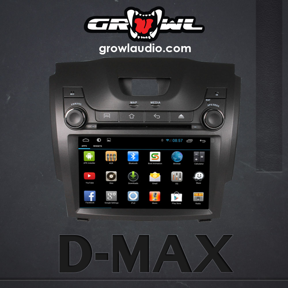 "OEM ANDROID HEAD UNIT 8"" CAPACITIVE TOUCH FIT FOR ISUZU D-MAX 2012-2014"