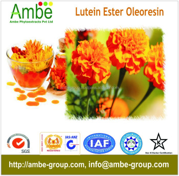 Lutein Powder 20%, Lutein Oleoresin 20%, 40%, Lutein Ester Powder 20%, Lutein Free Powder 10%, 20%, 40%