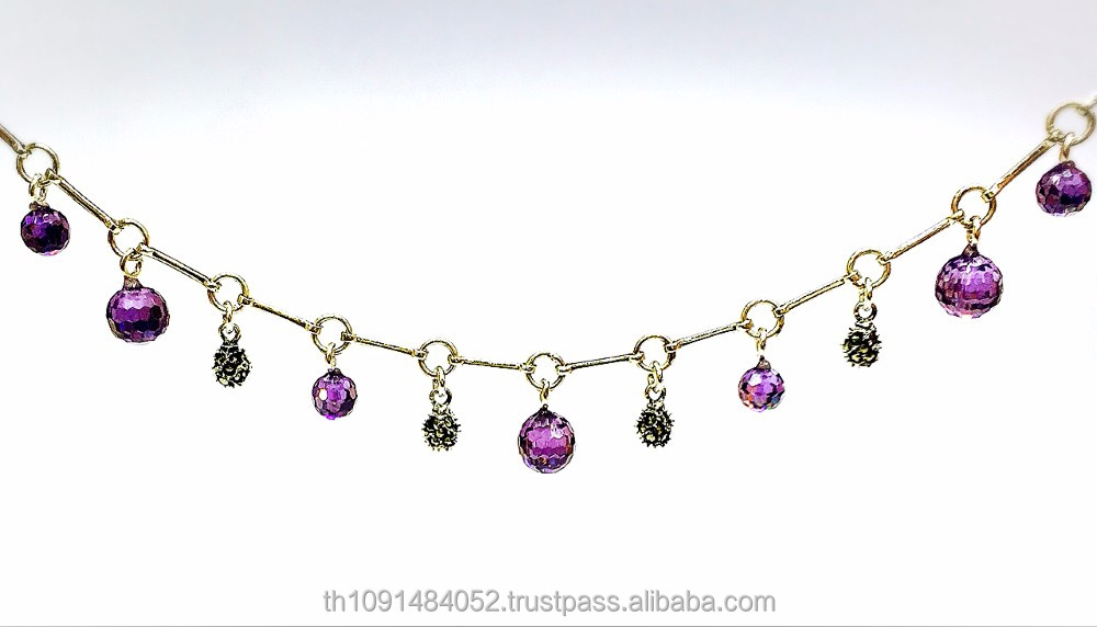 925 sterling silver bracelet fashion jewelry with Swiss marcasite and Cubic zirconia stone ball