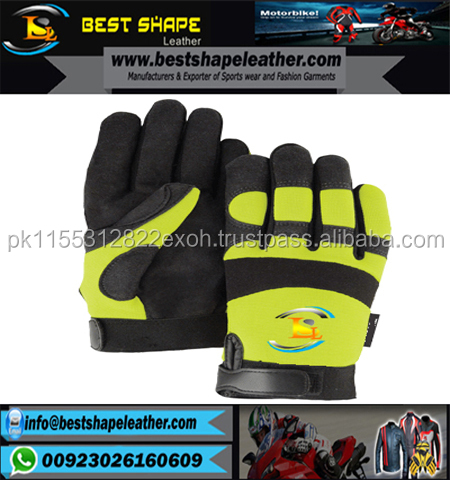 Wholesale Mechanic Wear Heavy Duty Mechanics Gloves