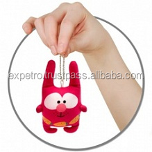 Antistress Soft Toys - Key chain - Rabbit Larry (9.5cm)