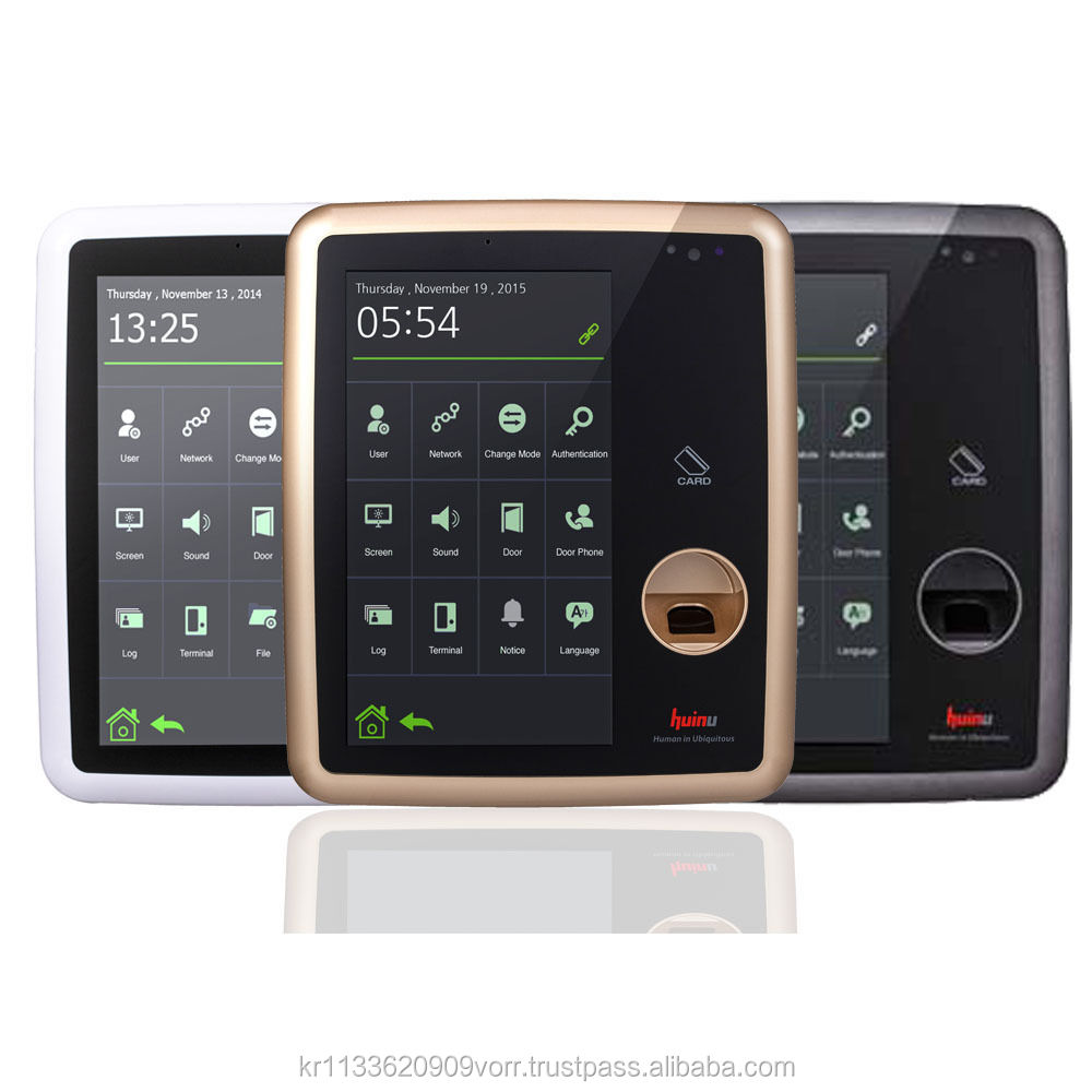 Premium Finterprint Device 7 inch Capacitive Touch Screen Reader