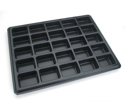 HIPS Conductive ESD Trays ~ Anti-Static Trays and Conductive Trays for electronic parts