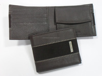 Folding Leather Coin Purse