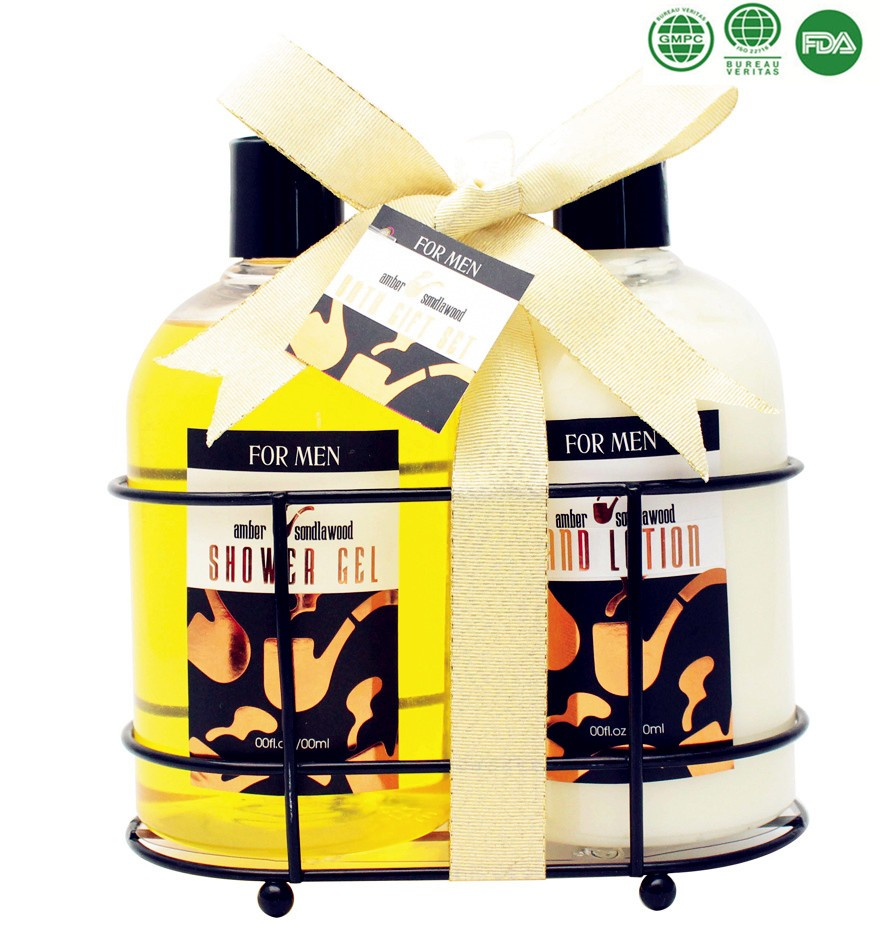 Promotional Gift Father's Day Men Bath Gift Sets