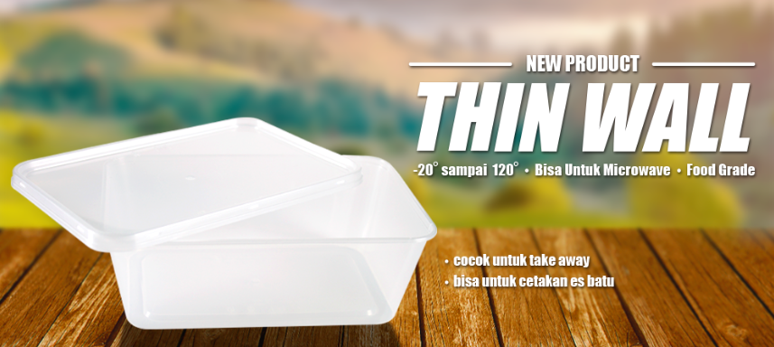 Thin Wall Food Takeaway Container 750 ml