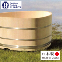 High class and Reliable spa furniture The Hinoki Onsen Bath for relaxation , OEM also available