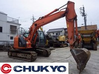 Hitachi Used Excavator ZX135US Japanese Digger 0.45m3 For Sale