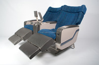 First Class Aircraft Seat, Electronic, with fabric cushions