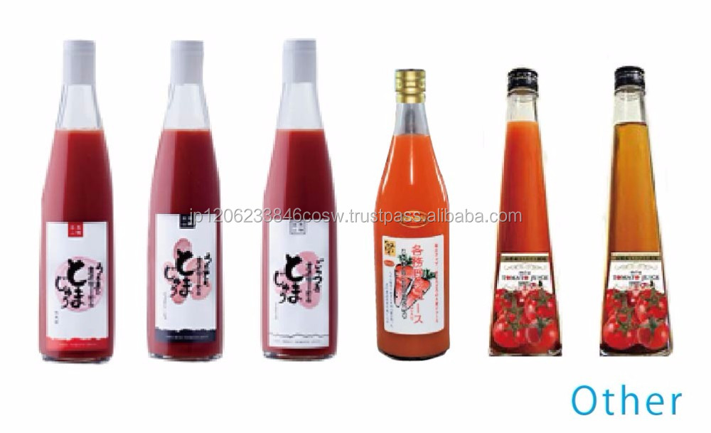 Variety of delicious tomato juice brands from Japanese supplier