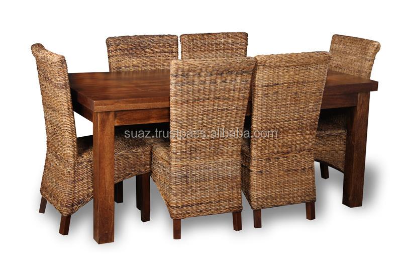 Cane Dining TableLiving Room FurnitureCustom FurnitureBamboo Table
