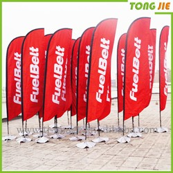 Vertical hanging banner for advertising with banner /plastic scroll