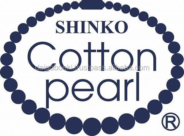 Light weight and Original Cotton base SHINKO Cotton pearl with light weight made in Japan