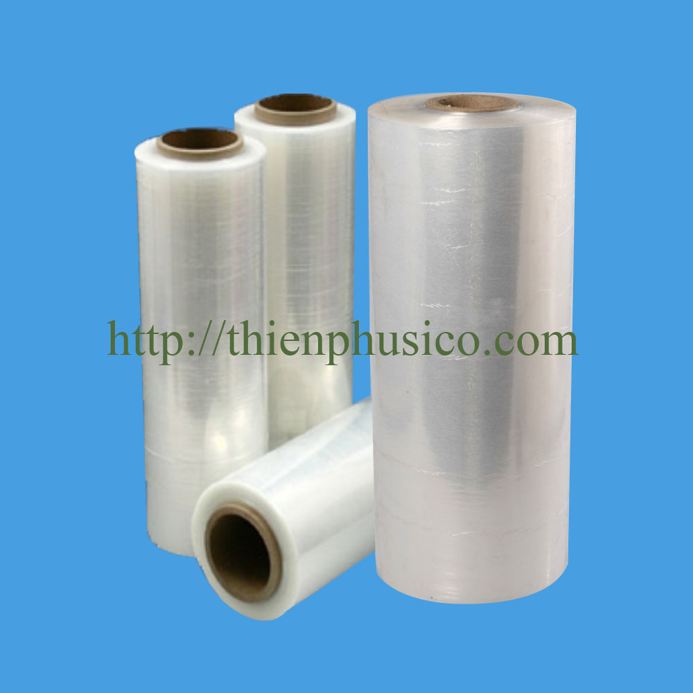100% new material clear PE stretch film