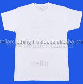 plain white organic cotton t-shirts 160 grams