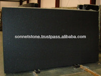 Flammed Black Granite