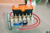 EQUIPMENT FOR PREVENTION, RESTORATION AND REPAIR OF GAS-OIL TWO-TUBE AMORTIZERS